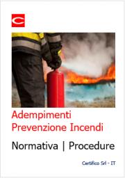 Adempimenti Prevenzione Incendi: normativa e procedure