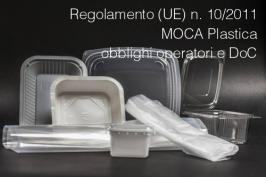 Regolamento (UE) n. 10/2011 MOCA Plastica: obblighi operatori e DdC