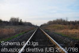 Schema di D.lgs attuazione direttiva (UE) 2016/798