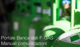 Portale Banca dati F-GAS: Manuali comunicazioni