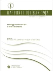Rapporto ISTSAN 19 | 2