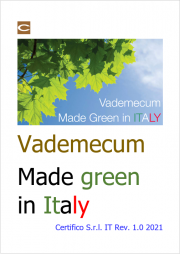 Vademecum Made Green in Italy
