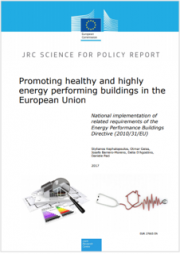 Promoting healthy and energy efficient buildings in the EU