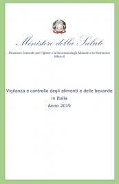 Vigilanza e controllo alimenti e bevande in Italia Anno 2019