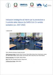 Indicazioni strategiche ad interim infezioni da SARS-CoV-2 ambito scolastico (a.s. 2021-2022)