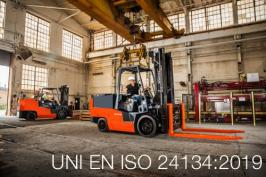 UNI EN ISO 24134:2019 | Sicurezza dei carrelli industriali