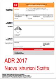 ADR 2017 Preview: Nuove Istruzioni Scritte ADR 2017