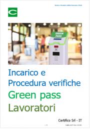 Incarico accertatori / Procedura verifica green pass lavoratori