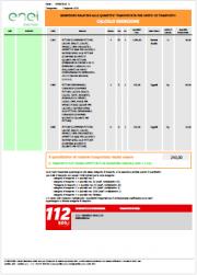 ADR 2019 Esenzione parziale 1.1.3.6: Quantità totale