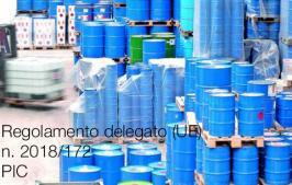 Regolamento delegato (UE) 2018/172