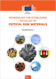 Methodology for establishing the EU list of critical raw materials