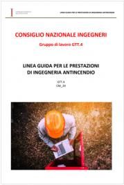 Linea guida per le prestazioni di ingegneria antincendio | CNI 2021