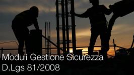 Moduli Gestione Sicurezza D.Lgs 81/2008