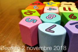 Decreto MISE 2 novembre 2018