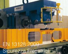 EN 13128:2009 Sicurezza Fresatrici