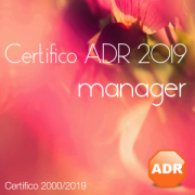 Certifico ADR 2019 Manager