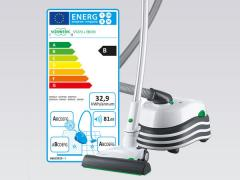 Etichettatura energetica aspirapolvere
