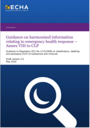 Draft Guidance Annex VIII to CLP Vers. 2.0 2019