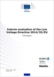 Interim evaluation of the Low Voltage Directive 2014/35/EU