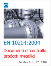 EN 10204:2004 | Documenti di controllo prodotti metallici