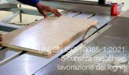 UNI EN ISO 19085-1:2021 | Sicurezza macchine lavorazione del legno