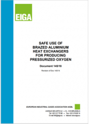 Ossigeno pressurizzato: Uso sicuro scambiatori di calore