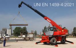 UNI EN 1459-4:2021 | Carrelli a braccio telescopico