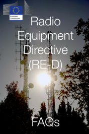 FAQs  Radio Equipment Directive (RE-D): Agosto 2017