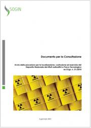 Cnapi   Carta aree potenzialmente idonee Deposito Nazionale rifiuti radioattivi