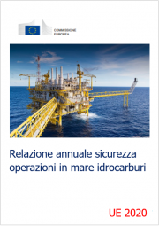 Relazione annuale sicurezza operazioni in mare idrocarburi UE 2020