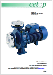 Pump position paper machinery directive 2006/42/EC