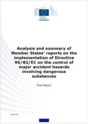 Relazione 2017 direttiva Seveso II (RIR) UE
