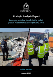 Report criminal trends plastic waste INTERPOL