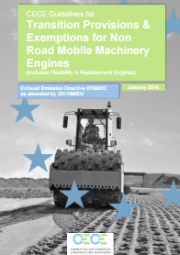 Transition Provisions & Exemptions for Non Road Mobile Machinery Engines