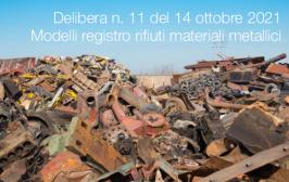Delibera n. 11 del 14 ottobre 2021