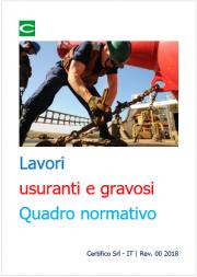 Lavori usuranti e gravosi | Quadro normativo