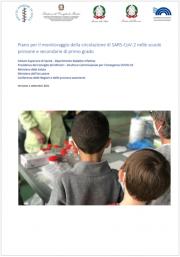 Piano per il monitoraggio della circolazione di SARS-CoV-2 nelle scuole