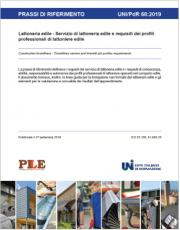 UNI/PdR 68 2019 | Lattoneria edile