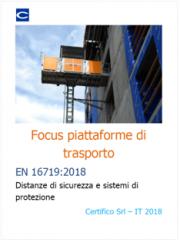 Focus piattaforme di trasporto | EN 16719:2018