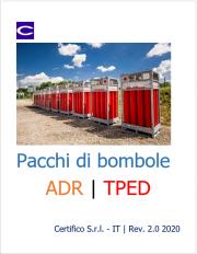 Pacchi di bombole ADR | TPED