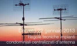 Decreto 22 gennaio 2013