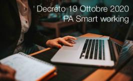 Decreto 19 Ottobre 2020 | PA Smart working