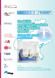 Usabilità e personalizzazione del Dispositivo Medico