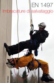 UNI EN 1497:2008 DPI cadute dall'alto - Imbracature di salvataggio