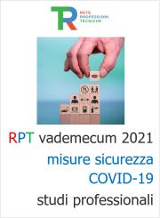 Rpt vademecum 2021 misure sicurezza COVID-19 studi professionali
