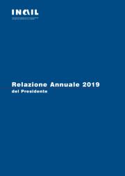 Relazione annuale Inail 2019
