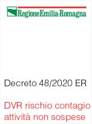 Decreto n. 48 del 24 Marzo 2020 Regione Emilia-Romagna