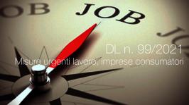 Decreto-Legge 30 giugno 2021 n. 99