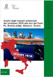 Analisi impatti ambientali del lockdown 2020 alle foci dei fiumi Po, Brenta-Adige, Metauro, Tevere