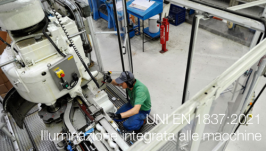 UNI EN 1837:2021   Illuminazione integrata alle macchine